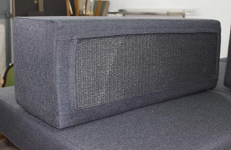 banquette modulable sur mesure mr g le cannet 4 pouf. Black Bedroom Furniture Sets. Home Design Ideas