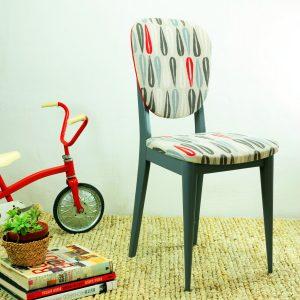 """Electric Ladyland"" – Chaise Vintage Années 60"